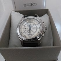 Seiko Premier Seiko Premier World Time Alarm Men's SPL011P1 Good UAE, SHARJAH