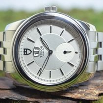 Tudor Glamour Double Date Staal 42mm Zilver