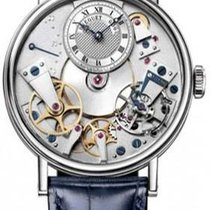 Breguet Tradition 7037bb/11/9v6 Very good White gold 38mm Automatic
