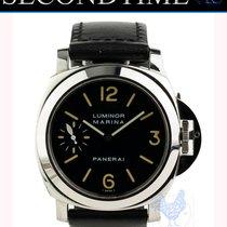 Panerai Luminor Marina new Manual winding Watch with original papers PAM001