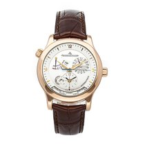 Jaeger-LeCoultre Master Geographic Oro rosado 40mm Plata Árabes