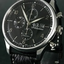 JB Gioacchino Steel Automatic Black Arabic numerals 44mm new