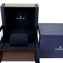 Corum very important e rare big watch wooden box