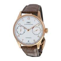 IWC Men's IW500113 Portuguese 7-Day 18kt Watch