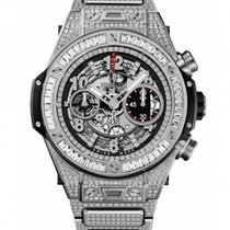 Hublot : 45mm Big Band Unico Titanium Jewellery Bracelet Watch