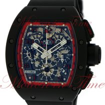 """Richard Mille Ceramic 50mm Automatic RM011 """"Midnight Fire"""" pre-owned United States of America, New York, New York"""