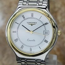 Longines Conquest Mens Swiss Made Stainless Steel Luxury...
