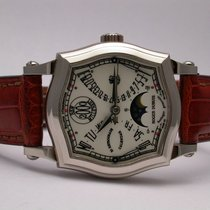 Roger Dubuis Sympathie Bi-retro Calendar 57070 18k White Gold...