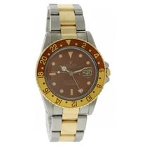Rolex Oyster Perpetual Date GMT Master II 16753 Root Beer