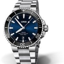Oris Aquis Date Steel 43.50mm Blue No numerals