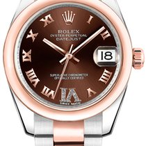Rolex Datejust Everose Gold Diamond Dial 178241
