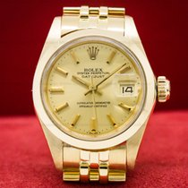 Rolex 6916 Lady Datejust 18k Yellow Gold Jubille (27606)