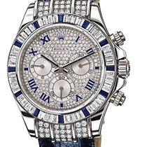 Rolex Cosmograph Custom Saphire & Diamond Unisex Watch