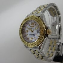 Breitling Windrider Cockpit B-Class Lady MOP Dial - Gold Steel