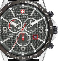 Swiss Military Steel 44mm Quartz 06-4251.33.001 new