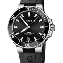 Oris Aquis Date Steel 39.5mm Black