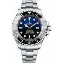 Rolex Perpetual Sea-Dweller Deepsea D-Blue Steel Blue Dial 44mm