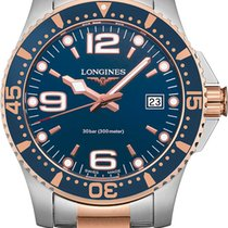Longines HydroConquest Gold/Steel 41mm Blue United States of America, New York, Airmont