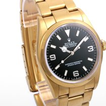 "Rolex 36m SS Explorer Custom PVD ""Tin"" Color w/ Original Box..."