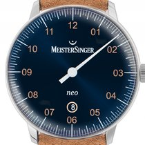 Meistersinger Steel 40mm Automatic NE417G new