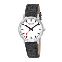 Mondaine Steel 36mm Quartz A660.30314.16SBH MONDAINE SBB SEASONALS Bianco PET 36mm new