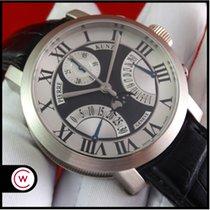 Pierre Kunz Chronograaf 44mm Automatisch 2011 tweedehands Zwart