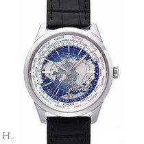 Jaeger-LeCoultre Geophysic Universal Time Staal 40mm Blauw