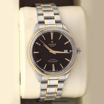 Tudor Style Gold/Steel 38mm Black United States of America, New York, Airmont