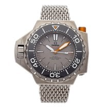 Omega Titanium Automatic Grey No numerals 55mm pre-owned Seamaster PloProf