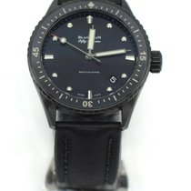 Blancpain Fifty Fathoms Bathyscaphe Ceramic 43.6mm Black No numerals United States of America, New York, New York