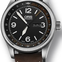 Oris Royal Flying Doctor Service Limited Edition Steel 45mm Black Arabic numerals United States of America, New York, New York