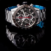 TAG Heuer Carrera Calibre HEUER 01 Steel Transparent United States of America, California, San Mateo