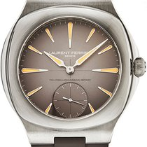 Laurent Ferrier Steel Manual winding Brown new