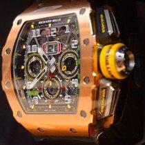 Richard Mille Ruzicasto zlato 49.94mm Automatika RM11-03 nov