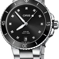 Oris Aquis Date new Automatic Watch with original box and original papers 01 733 7731 4194-07 8 18 05P