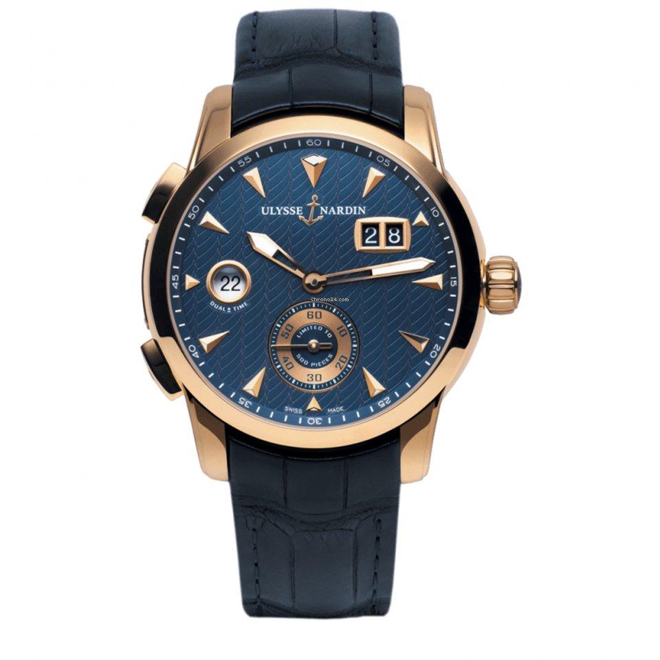 Ulysse Nardin Dual Time 3346126LE/93 new