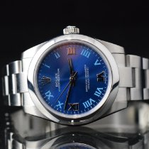 Rolex Oyster Perpetual 31 Aço 31mm Azul Romanos