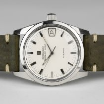 Universal Genève Steel 35mm Automatic Polerouter pre-owned