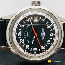 Stuhrling Steel 42mm Automatic pre-owned