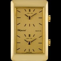 Chopard Chopard Dual Time Muy bueno Oro amarillo 22mm Cuerda manual