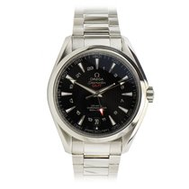 Omega Seamaster GMT Stainless Steel