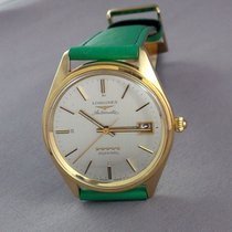 Longines Admiral Yellow gold 35 x 37mm Silver No numerals