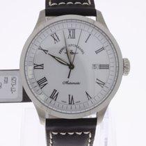 Zeno-Watch Basel Godat Automatic White NEW