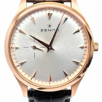 Zenith Elite Ultra Thin Rose gold 40mm Silver No numerals United States of America, Florida, Naples