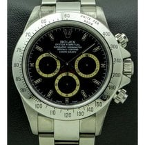Rolex   Daytona Zenith Stainless Steel with Brown Compax,...