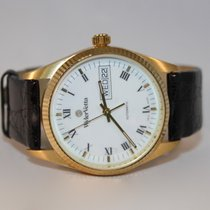Wyler Vetta Yellow gold Automatic White Roman numerals 34mm pre-owned
