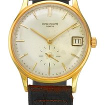 Patek Philippe | A Yellow Gold Automatic Wristwatch With Date...