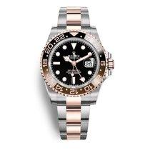 Rolex GMT-Master II Gold/Steel 40mm Black No numerals UAE, Dubai