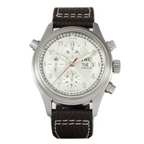 IWC Pilot Double Chronograph Staal 42mm Nederland, Purmerend