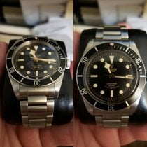 Tudor Black Bay ETA ROSE NOIR RARE Box and papers